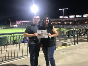 Frank attended Round Rock Express vs. Sacramento River Cats - MiLB on Jun 14th 2018 via VetTix