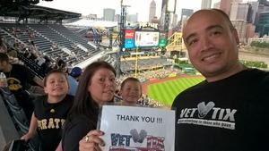 Click To Read More Feedback from Pittsburgh Pirates vs. Arizona Diamondbacks - MLB