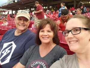 Kody attended Cincinnati Reds vs. St. Louis Cardinals - MLB on Jun 8th 2018 via VetTix