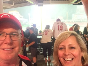 Edward (Ned) attended Cincinnati Reds vs. St. Louis Cardinals - MLB on Jun 8th 2018 via VetTix