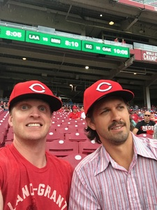 Joseph attended Cincinnati Reds vs. St. Louis Cardinals - MLB on Jun 8th 2018 via VetTix