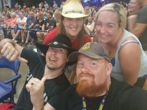 RYAN attended Dierks Bentley Mountain High Tour 2018 on Jun 2nd 2018 via VetTix