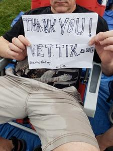 Steve attended Dierks Bentley Mountain High Tour 2018 on Jun 2nd 2018 via VetTix