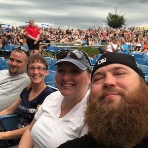 Eric attended Dierks Bentley Mountain High Tour 2018 on Jun 2nd 2018 via VetTix