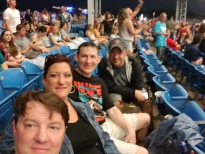 Dale attended Dierks Bentley Mountain High Tour 2018 on Jun 2nd 2018 via VetTix
