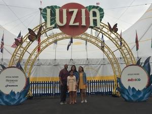 Roberto attended LUZIA LUZIA by Cirque du Soleil on May 26th 2018 via VetTix