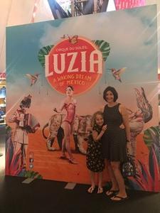 Stephen attended LUZIA LUZIA by Cirque du Soleil on May 26th 2018 via VetTix