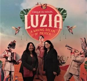Bobbie attended LUZIA LUZIA by Cirque du Soleil on May 26th 2018 via VetTix