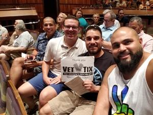Thomas attended Desert Overture Presents - I Am What I Am on Jun 3rd 2018 via VetTix