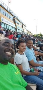 LeMario attended 2018 US Open of Football Semifinals - Godspeed vs. Holdat - Double Header - Presented by the American Flag Football League on Jul 8th 2018 via VetTix