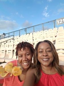 Angela attended 2018 US Open of Football Semifinals - Godspeed vs. Holdat - Double Header - Presented by the American Flag Football League on Jul 8th 2018 via VetTix