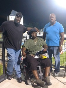 Africa attended 2018 US Open of Football Semifinals - Godspeed vs. Holdat - Double Header - Presented by the American Flag Football League on Jul 8th 2018 via VetTix