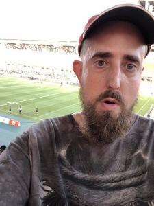 David attended 2018 US Open of Football - Ultimate Final - Presented by the American Flag Football League on Jul 19th 2018 via VetTix