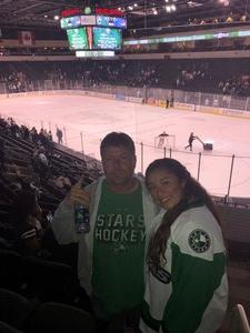 Matthew attended Texas Stars vs. Rockford Icehogs - Game Six - Western Conference Finals - AHL on May 28th 2018 via VetTix