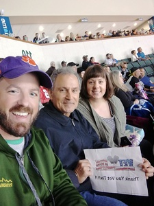 Jim Sepulveda attended Texas Stars vs. Rockford Icehogs - Game Six - Western Conference Finals - AHL on May 28th 2018 via VetTix