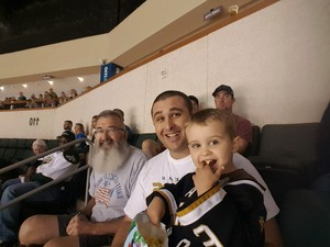 Anthony attended Texas Stars vs. Rockford Icehogs - Game Six - Western Conference Finals - AHL on May 28th 2018 via VetTix