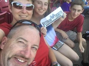 Adron attended Texas Airhogs vs. Wichita Wingnuts - American Association of Independent Professional Baseball on Jun 16th 2018 via VetTix