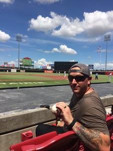Aaron attended Texas Airhogs vs. Wichita Wingnuts - American Association of Independent Professional Baseball on Jun 17th 2018 via VetTix