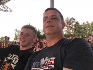 Bradley attended Poison With Special Guests Cheap Trick on Jun 5th 2018 via VetTix