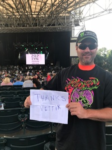 Carl attended Poison With Special Guests Cheap Trick on Jun 5th 2018 via VetTix