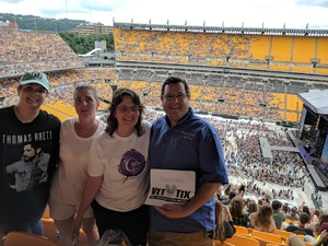 Lou attended Kenny Chesney: Trip Around the Sun Tour - Country on Jun 2nd 2018 via VetTix