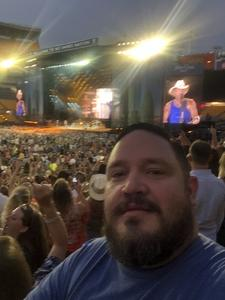 Daniel attended Kenny Chesney: Trip Around the Sun Tour - Country on Jun 2nd 2018 via VetTix