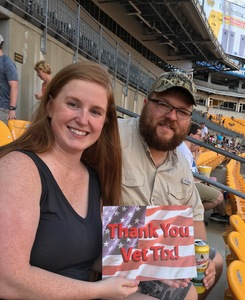 Kristopher attended Kenny Chesney: Trip Around the Sun Tour - Country on Jun 2nd 2018 via VetTix