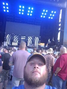 Richard attended Kenny Chesney: Trip Around the Sun Tour - Country on Jun 2nd 2018 via VetTix