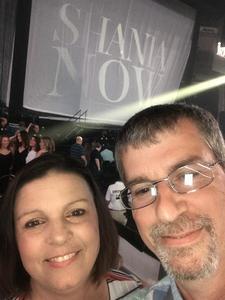 Joseph attended Shania Twain - Live in Concert on Jun 4th 2018 via VetTix