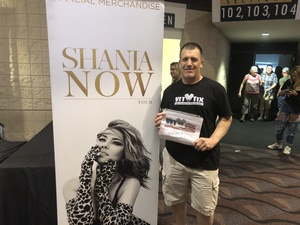 Michael attended Shania Twain - Live in Concert on Jun 4th 2018 via VetTix