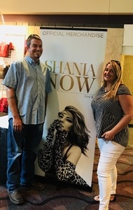 Tori attended Shania Twain - Live in Concert on Jun 4th 2018 via VetTix