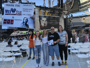 Steve attended Taylor Swift Reputation Stadium Tour on Jun 1st 2018 via VetTix