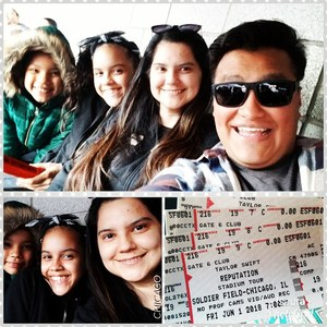 isaura attended Taylor Swift Reputation Stadium Tour on Jun 1st 2018 via VetTix