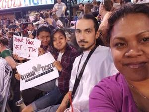 Leolora attended Colorado Rockies vs. Arizona Diamondbacks - MLB on Jun 8th 2018 via VetTix