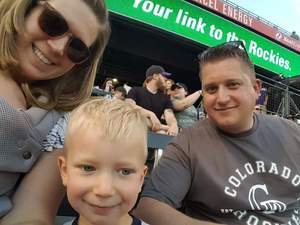 Matthew attended Colorado Rockies vs. Arizona Diamondbacks - MLB on Jun 8th 2018 via VetTix
