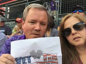 Chadwick attended Colorado Rockies vs. Arizona Diamondbacks - MLB on Jun 8th 2018 via VetTix