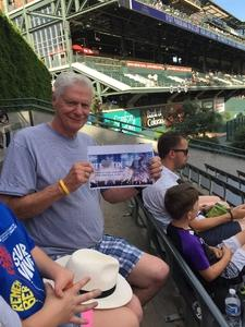 Paul attended Colorado Rockies vs. Arizona Diamondbacks - MLB on Jun 8th 2018 via VetTix