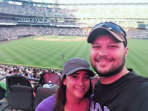 Nathaniel attended Colorado Rockies vs. Arizona Diamondbacks - MLB on Jun 8th 2018 via VetTix