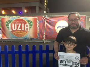 Joseph attended Luzia by Cirque Du Soleil - 8pm Show on Jun 2nd 2018 via VetTix