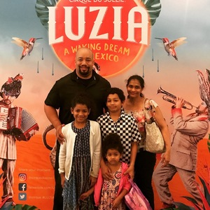 marcus attended Luzia by Cirque Du Soleil - 8pm Show on Jun 2nd 2018 via VetTix