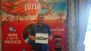 Jason attended Luzia by Cirque Du Soleil - 8pm Show on Jun 2nd 2018 via VetTix