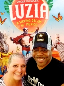 Philip attended Luzia by Cirque Du Soleil - 8pm Show on Jun 2nd 2018 via VetTix