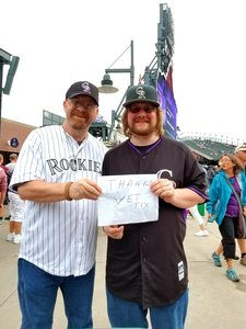 Baloo72 attended Colorado Rockies vs. Miami Marlins - MLB - Sunday on Jun 24th 2018 via VetTix