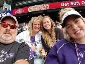 Ron attended Colorado Rockies vs. Miami Marlins - MLB - Sunday on Jun 24th 2018 via VetTix