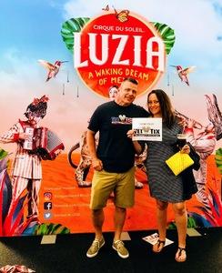 Brian attended Luzia by Cirque Du Soleil - Matinee on Jun 3rd 2018 via VetTix