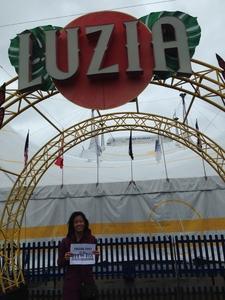 Kaipo attended Luzia by Cirque Du Soleil - Matinee on Jun 3rd 2018 via VetTix