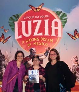 RP Eaton attended Luzia by Cirque Du Soleil - 5pm Show on Jun 3rd 2018 via VetTix