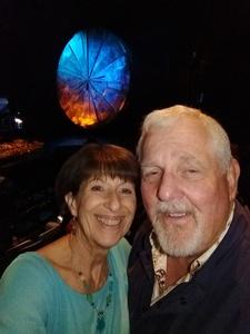 Debbie McClain attended Luzia by Cirque Du Soleil - 5pm Show on Jun 3rd 2018 via VetTix