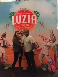 Troy attended Luzia by Cirque Du Soleil - 5pm Show on Jun 3rd 2018 via VetTix