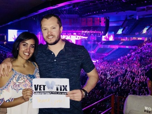 Kyle attended Sugarland: Still the Same Tour With Brandy Clark and Clare Bowen on Jun 8th 2018 via VetTix